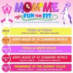 Get Fit This March With Your Kids – Yoga, Aero-Mashup, Swimming