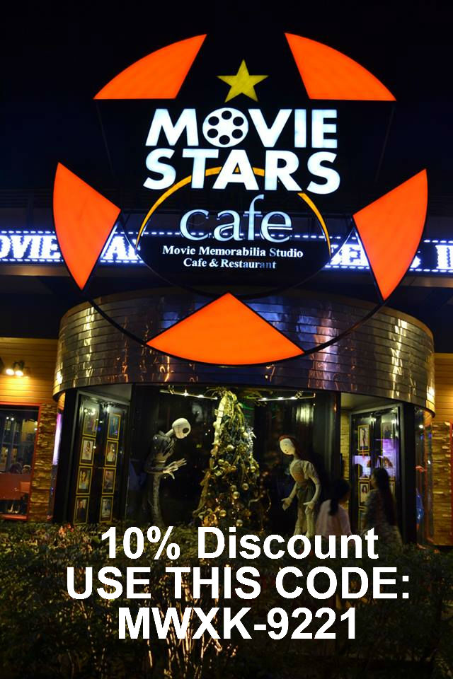 Use This Code When You Dine In At Movie Stars Cafe