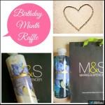 Birthday Month Blog Raffle Promo