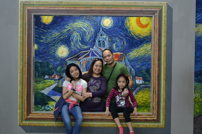family photo in Art In Island