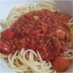 Organic Spaghetti Recipe