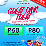 Sky Ranch Tagaytay Holiday Rates