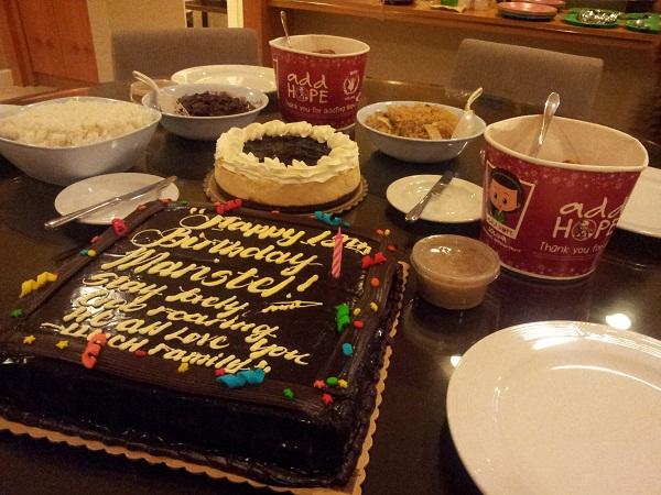 Red Ribbon Th Birthday Cakes