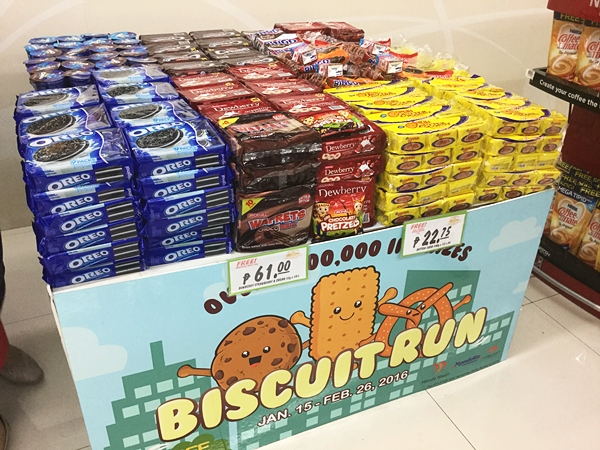 Monde Nissin, Mondelez and Universal Robina Corps biscuits