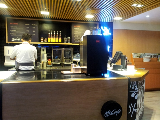 McCafe lounge