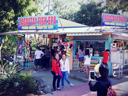 tagaytay fish spa