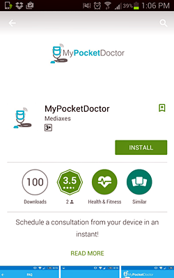 MyPocketDoctor Android App
