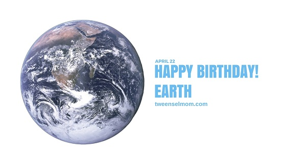 happy birthday earth