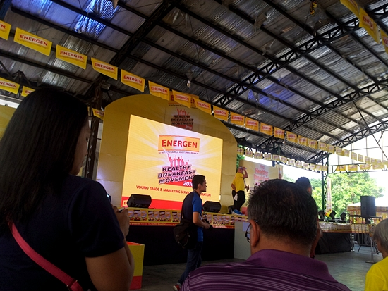 Energen Healthy Breakfast Movement Campaign in Barangay Commonwealth