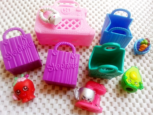 Some of Mariel's Shopkins collection