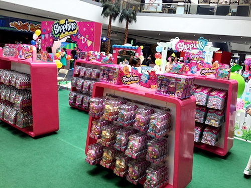 Shelves of Shopkins