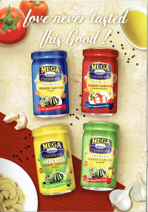 The Mega Creations Premium Spanish Sardines line