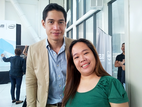 With Model Actor Victor Basa