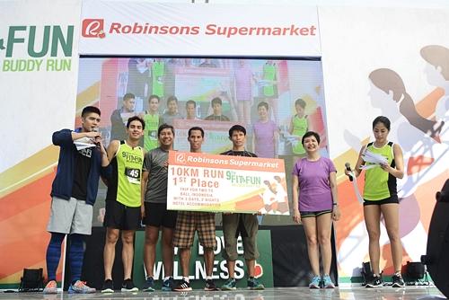 10km 1st place winner