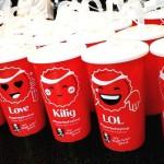 Enjoy Finger-Lickin' KFC Chicken With Coca-Cola Emoticups