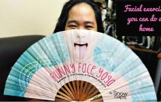 Facial exercises you can do at home