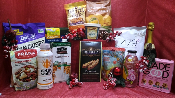 The Advent Candle Healthy Options Holiday Box