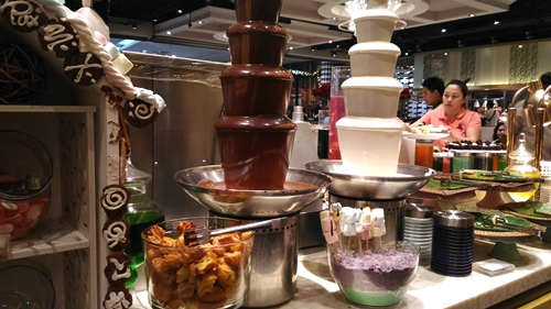 Vikings Chocolate Fountains