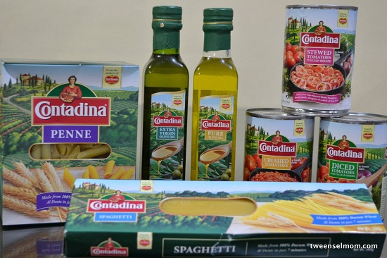 Contadian Olive Oils, Pasta and Canned Tomatoes