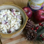Festive And Creamy Lady's Choice Mayonnaise Apple Macaroni Salad Recipe