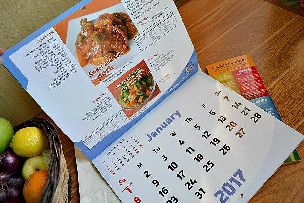 FNRI Menu Guide Calendar
