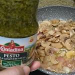 No-Meat Mushroom Pesto Penne Recipe