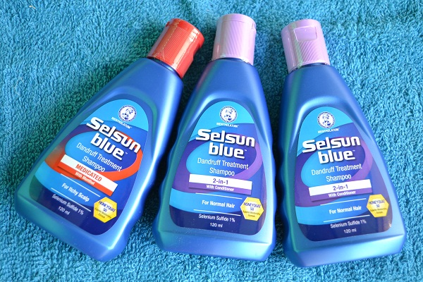 Selsun blue smells bad