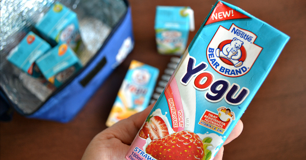 Nestle Bear Brand Yoghurt Milk Drink - Yogu