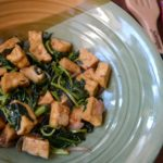 StirFried Kangkong And Tofu Made More Special With Ajinomoto Sarsaya Oyster Sauce