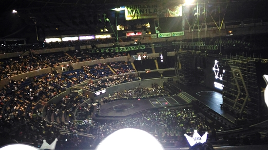 Before concert started - EXOrdium