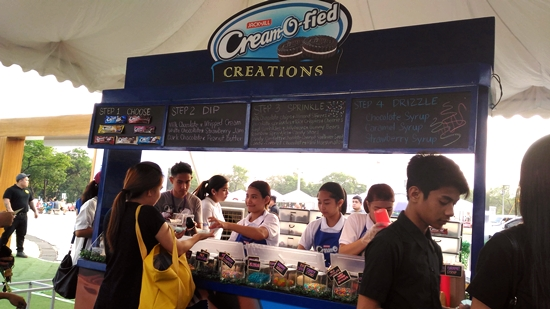 Cream-O-Fied CreamOFlixFest booth