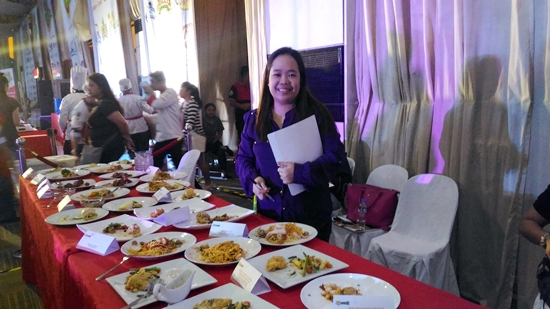 Judging 30 Dishes in Jolly University Grand Cook off
