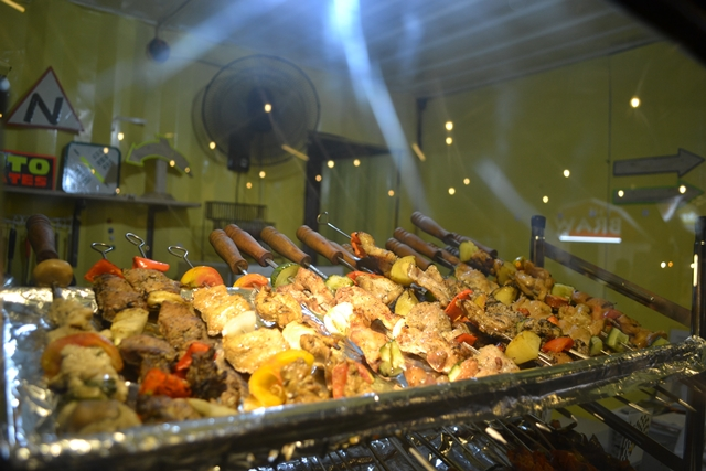 Lovely kebabs