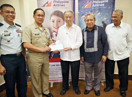 PAL continues to support the PH troops amid the Marawi crisis
