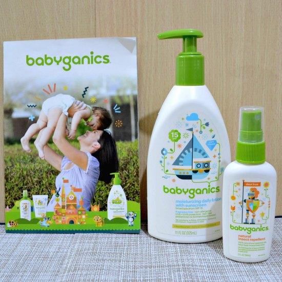Babyganics Lotion With Sunscreen And Babyganics Natural
