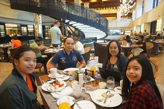 Spiral Breakfast Buffet Sofitel Philippine Plaza Hotel