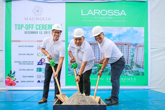 From left: Lemuel B Dionisio (VP for corporate management), Greg Alan G. Ignacio (VP for sales and mktg), Engr. Miguel P. Mendoza (VP for Operations)