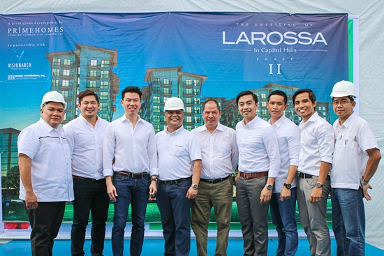 Larossa Phase II with Larossa Top Officials